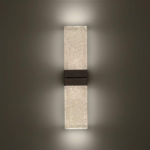 Contemporary Wall Light Rectangular Glass Led Grand Papillon Duo Massifcentral Wall Lights Wall Lights Diy Contemporary Wall Sconces