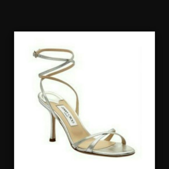 Jimmy Choo Metallic Juliet Sandals w/ Tags outlet store for sale for sale cheap real buy cheap best seller Kwie3