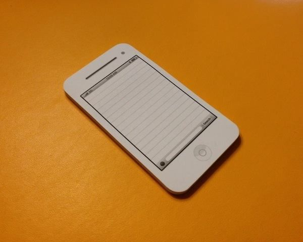 Draw attention in Phone Style Memo Pad, 50 pieces of paper