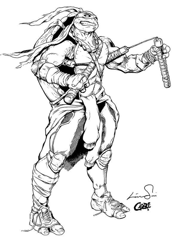 Teenage Mutant Ninja Turtles - Michelangelo by Savy Lim * | Coloring ...