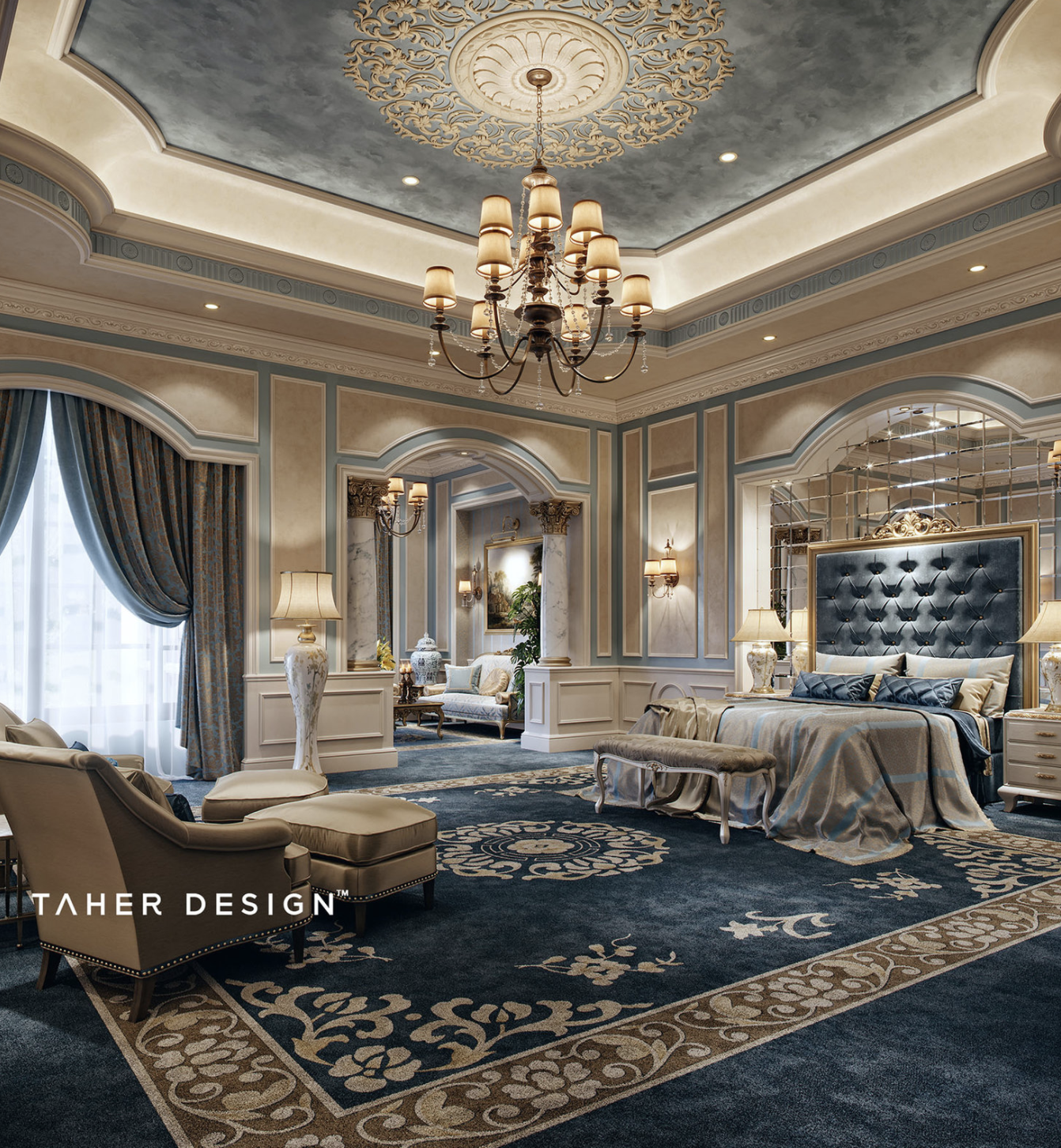 Taher Design Luxury Modern And Contemporary Living Room Best Top