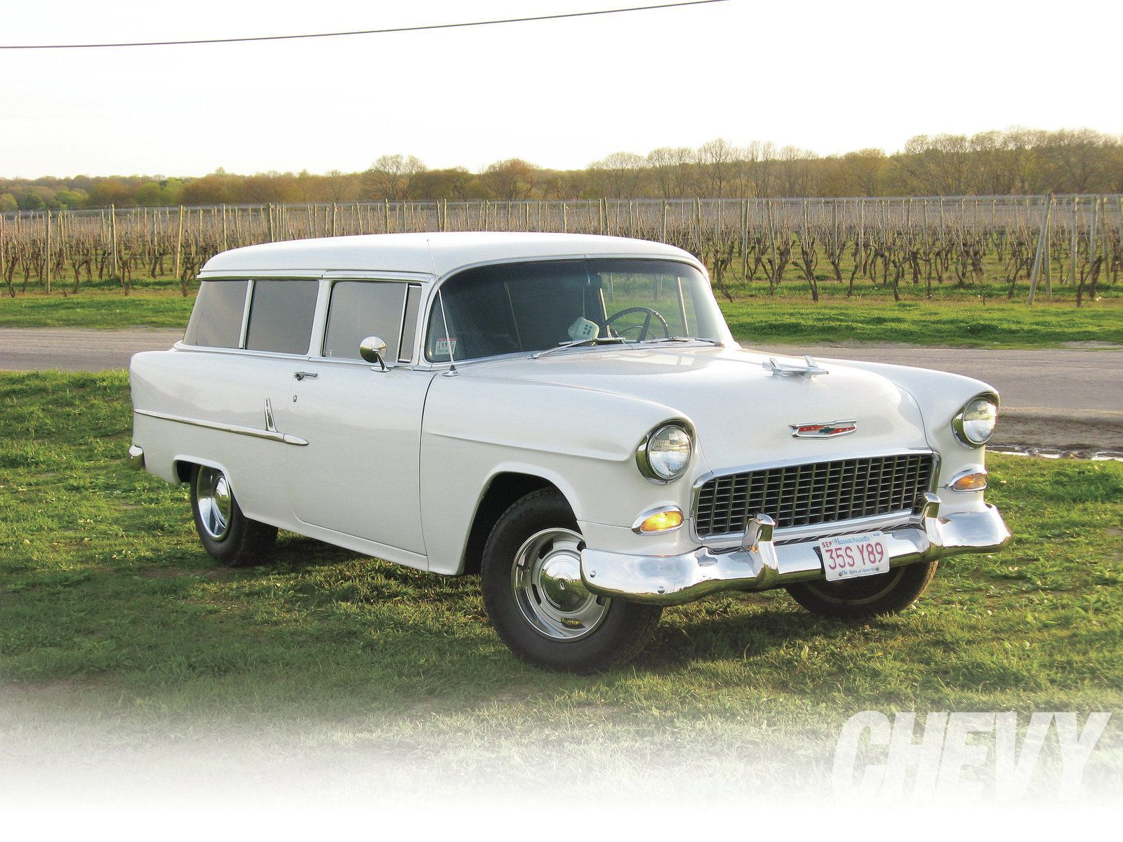 1955 chevrolet handyman 2 door wagon street rod - 55 Chevy 2 Door Wagon