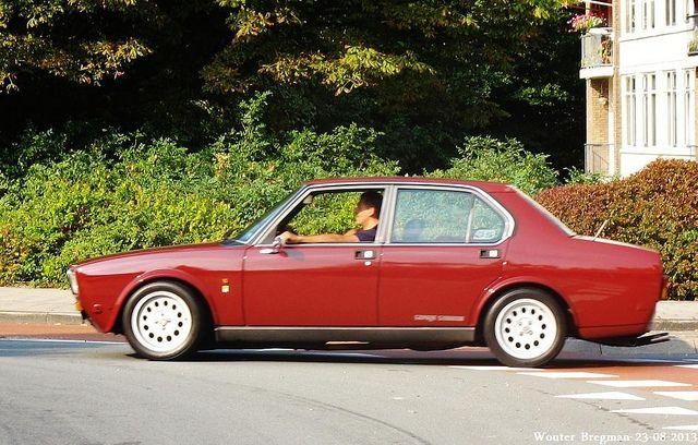 Alfa Romeo Alfetta Rosso