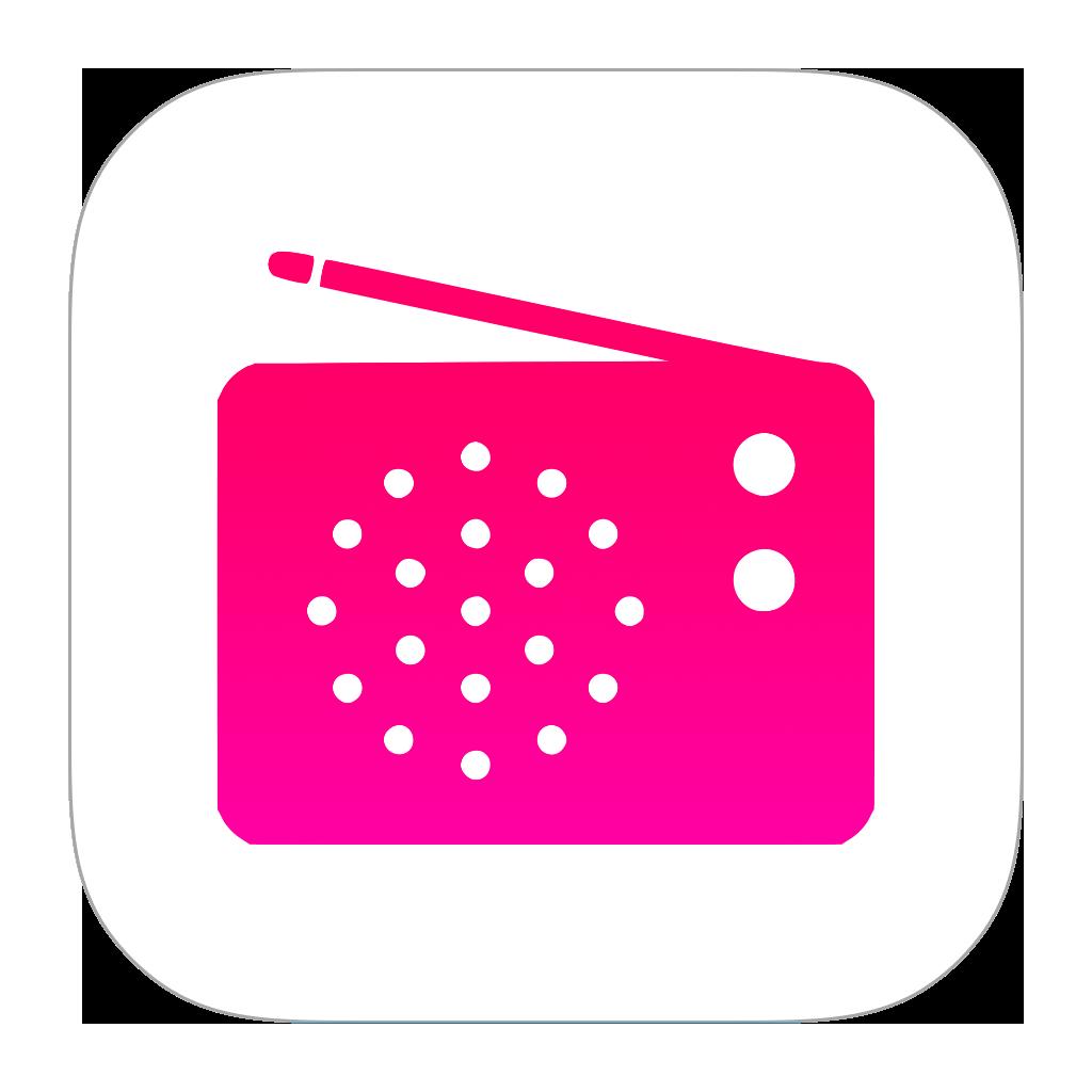 iTunes Radio Icon PNG Image Radio icon, Icon, Radio