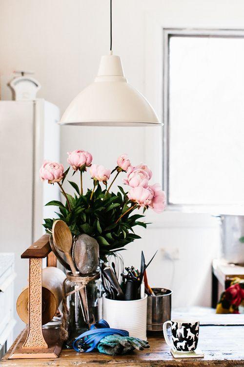 bruke reskaper blomster/urter, bokser og kasser