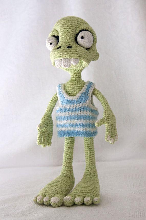 Muster Zombie Boy crochet Amigurumi von dsMouseBears auf Etsy
