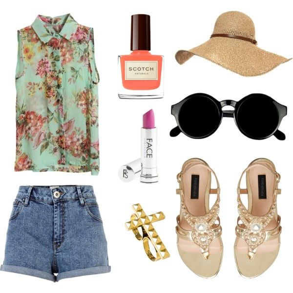 """summer sounds.."" by nievesugarte on Polyvore"