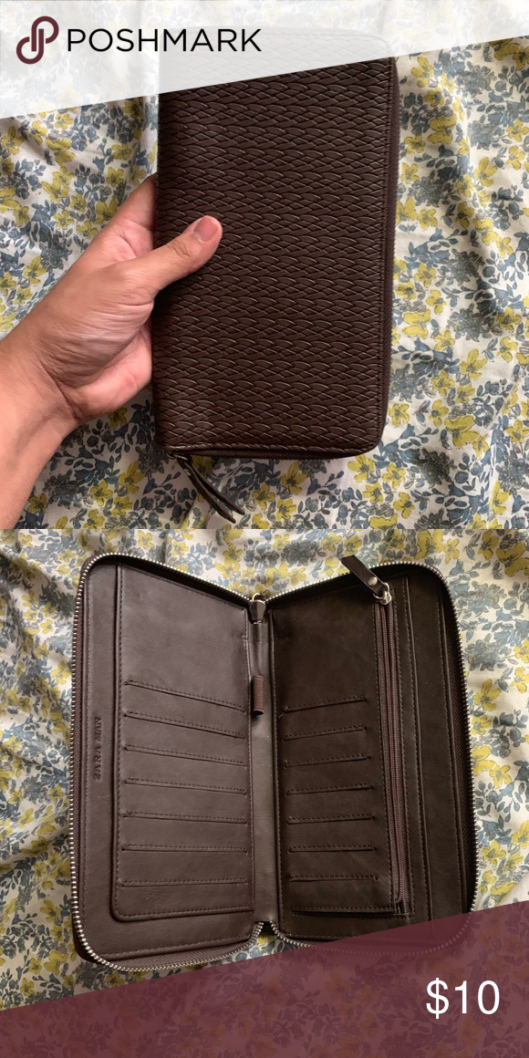 d47c4ddd Zara Man Travel Wallet Huge wallet! Great for travel. Zara ...