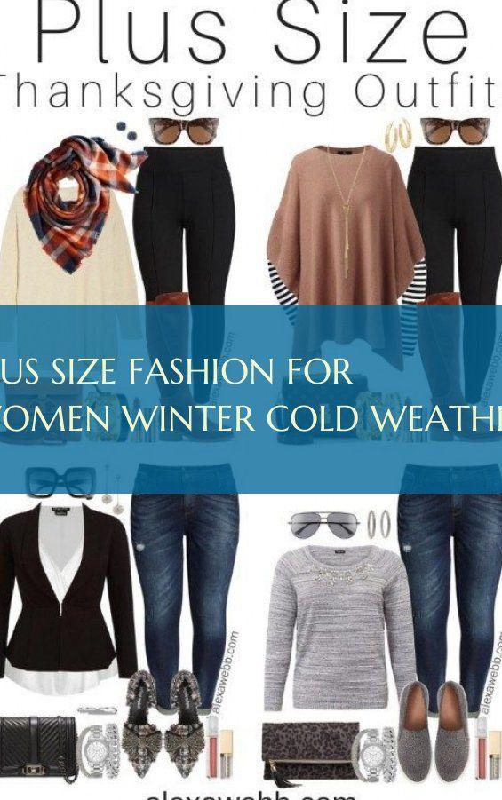 übergrößenmode für frauen winter kaltes wetter plus size fashion for women winter cold weather Casual winter women fashion Dressy winter women fashio...