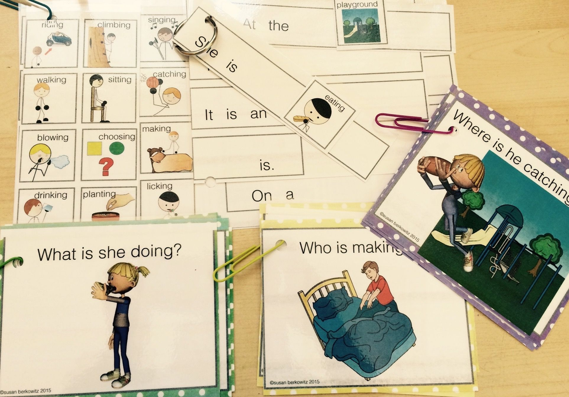 Answering Wh Questions About Pictures For Speech Therapy
