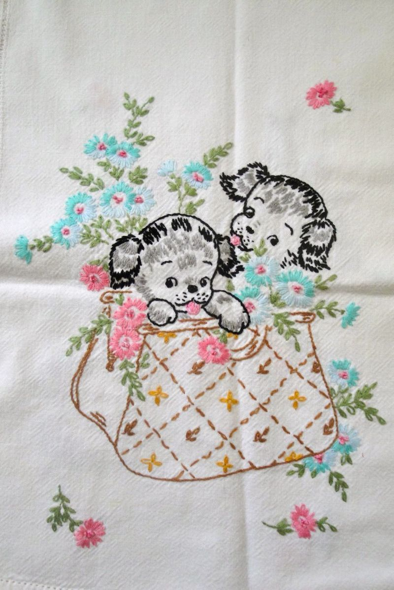 Grandmas Embroidery | Remember When | Pinterest | Tutorial de ...