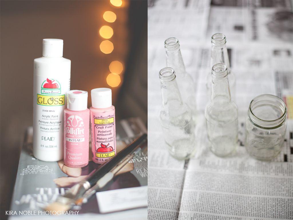 diybottleblog4 painted bottles   Crafting/Refurbishing   Pinterest ...