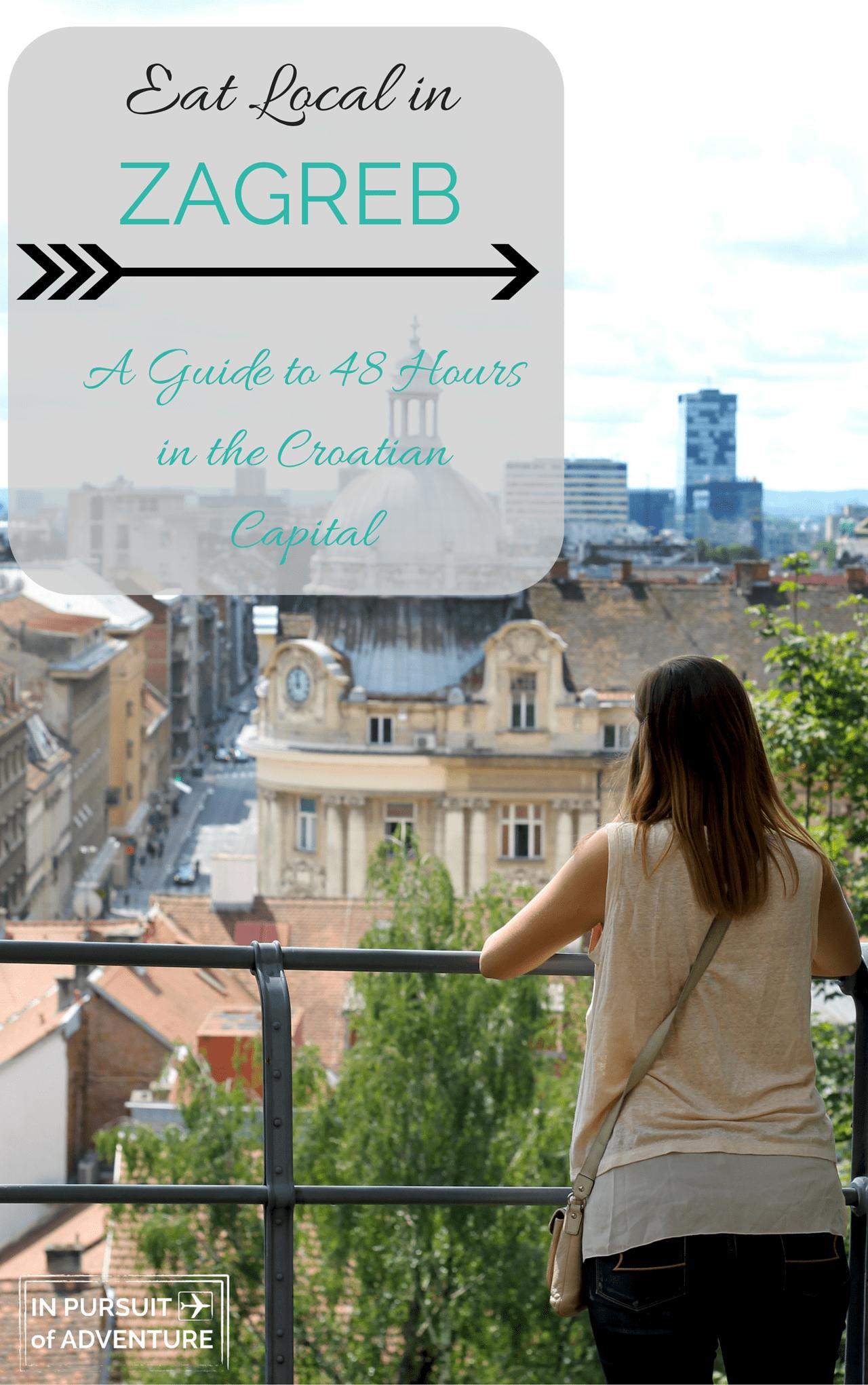 Eat Local In Zagreb A Zagreb Restaurant Guide Zagreb Croatia Travel Eastern Europe Travel