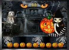 """Image result for halloween animated """"moving"""" art"""