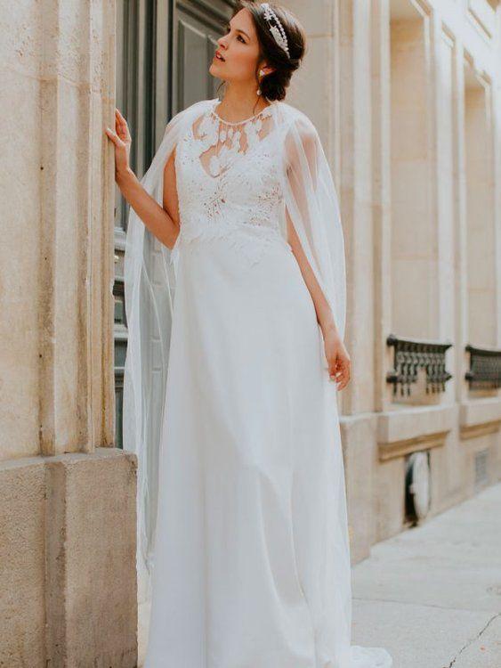 Robes de mariée Elsa Gary 2020 : légèreté, élégance et naturel pour cette nouvelle collection !