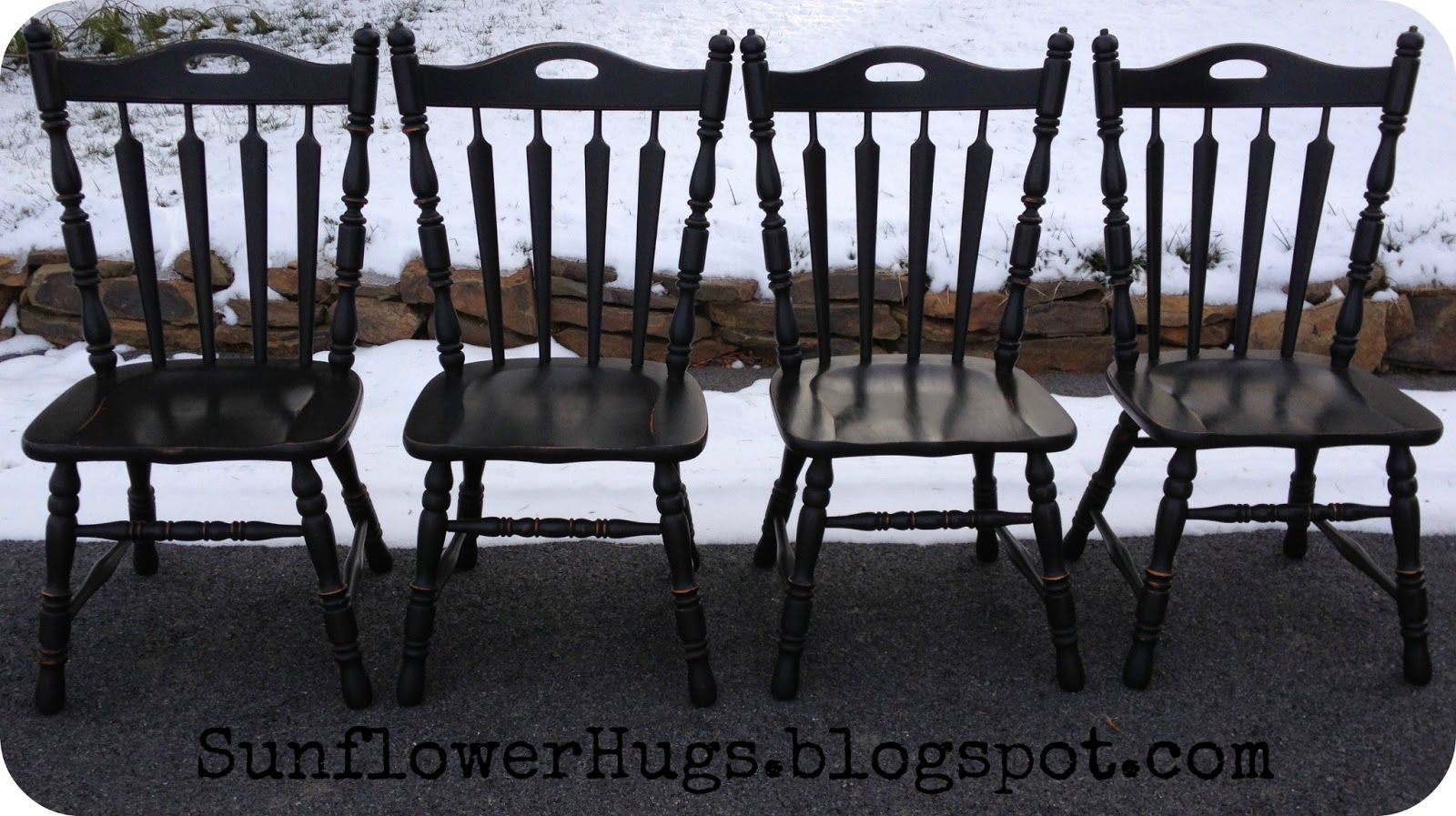 SunflowerHugs: Spindles EVERYWHERE--How to buff them easier!  Homemade chalk paint