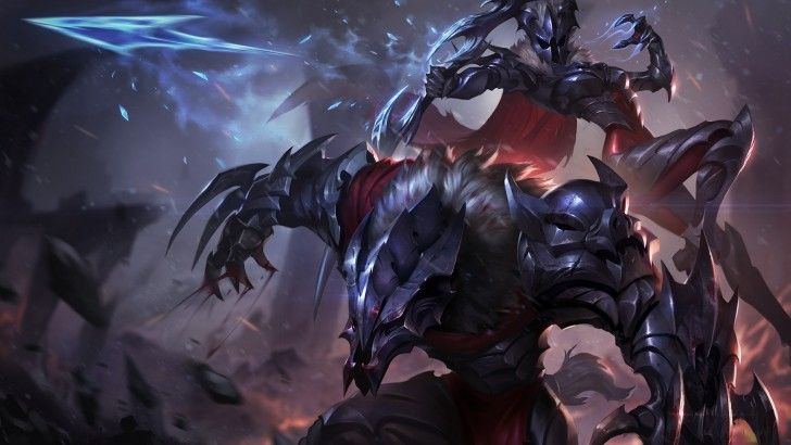 Download Marauder Ashe And Warwick Skin Hd Wallpaper