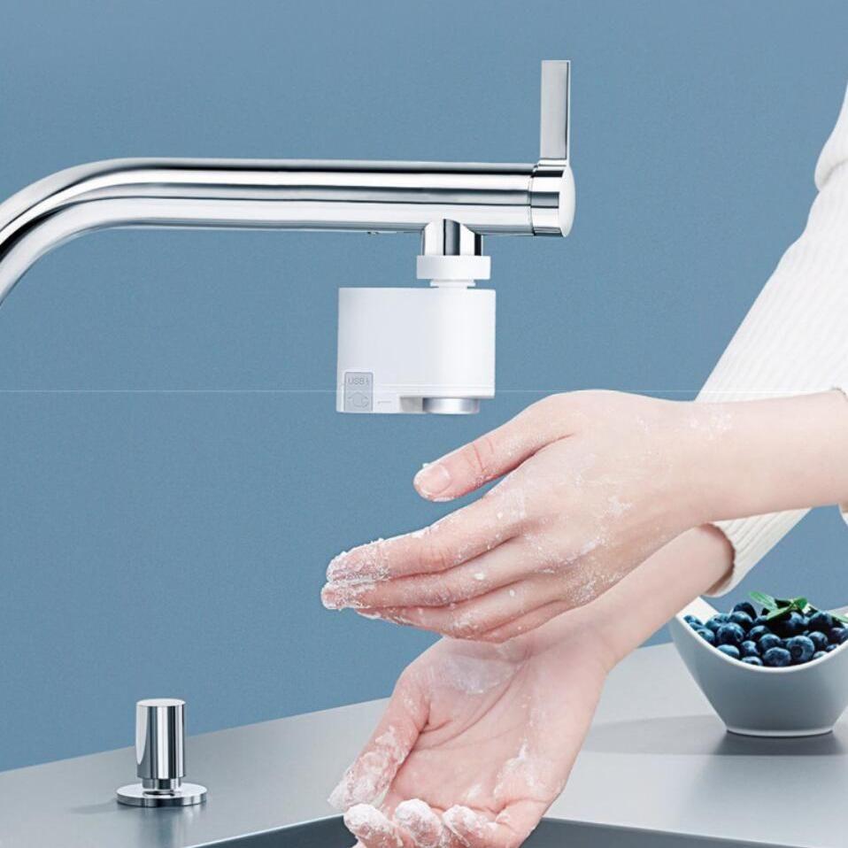 Infrared Water Saving Faucet Smart Faucet Water Saving Devices Faucet [ 958 x 958 Pixel ]