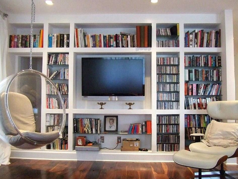 Built In Bookcase Ideas With Tv Astounding Cabinet And Wall