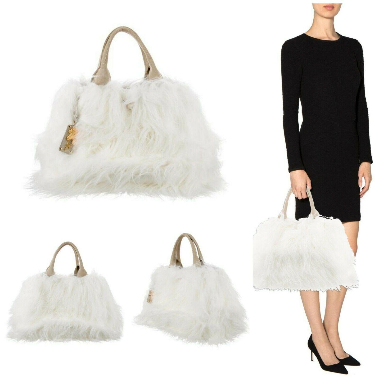 ef5ecabfd467 PRADA Womens Hand Bag Brand New Eco Kidassia Shoulder Bag MSRP ...