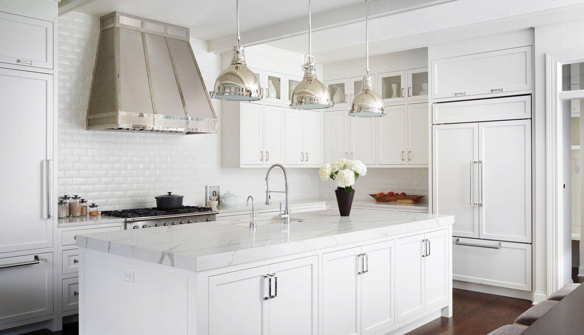 13 Brilliant Small Kitchen Storage Ideas Wayfair In 2020 White Shaker Kitchen Cabinets White Shaker Kitchen Kitchen Design