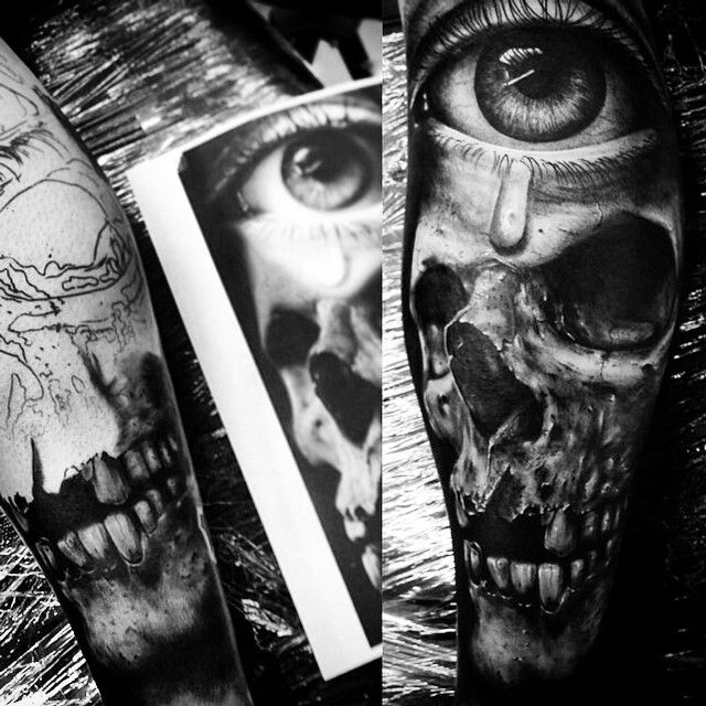 Amazing #tattoo #art by  @da_ink II