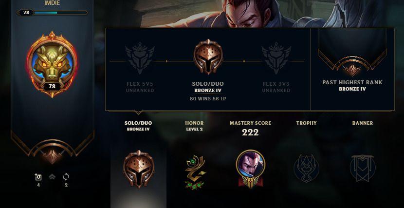 free bronze accounts league of legends