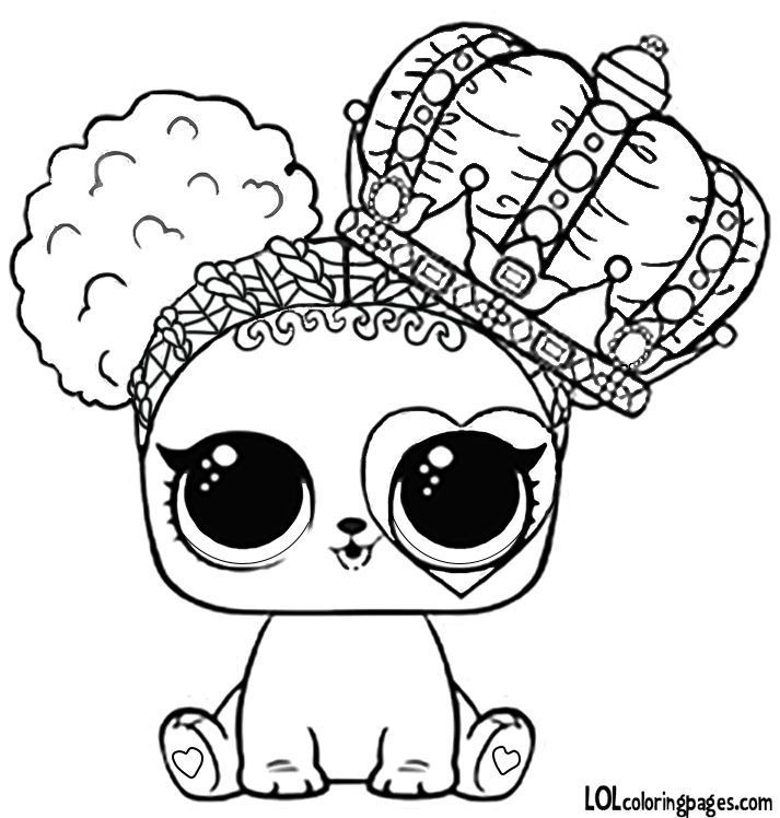 Lol Doll Unicorn Pet Coloring Pages In 2020 Puppy Coloring Pages Lol Dolls Cute Coloring Pages