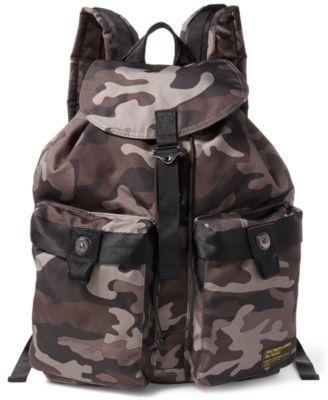 5da74bef25 POLO RALPH LAUREN Polo Ralph Lauren Men S Camo-Print Military Backpack.   poloralphlauren