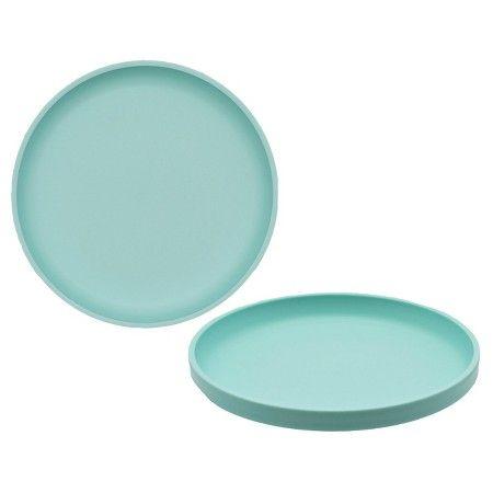 Big Kid\u0027s Round Salad Plate 9.6in Plastic Sea Foam Green - Pillowfort Lime Green  sc 1 st  Pinterest & Big Kid\u0027s Round Salad Plate 9.6in Plastic Sea Foam Green ...