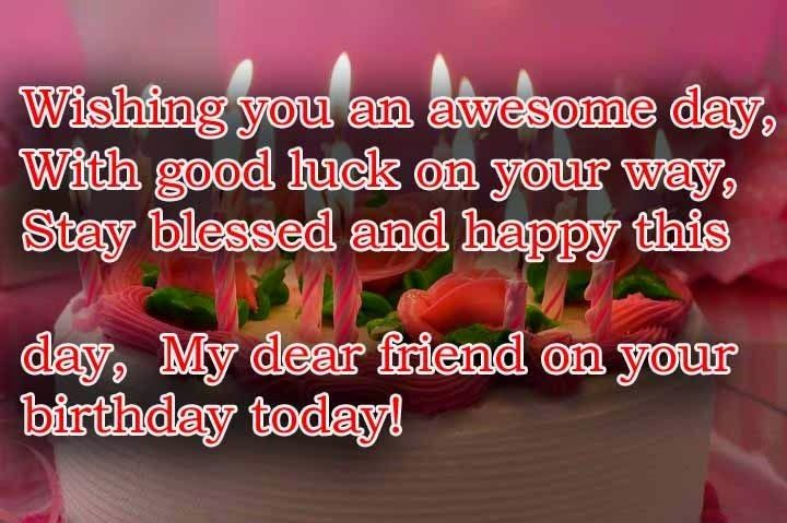 Birthday Cards Wishes For Best Friend ~ Happy birthday wishes quotes for best friend g