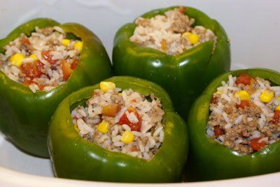 Slow Cooker Stuffed Green Peppers 5 Dinners Recipes Meal Plans Coupons Recipe Stuffed Peppers Stuffed Green Peppers Recipes