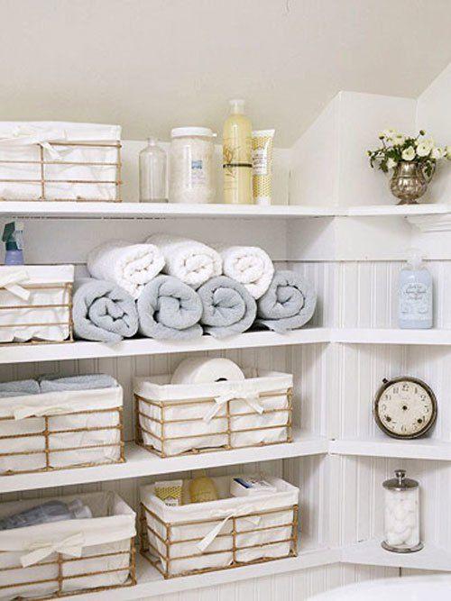 Stylish Bathroom Storage Ideas Baskets Are Wonderful Storage Magnificent Bathroom Storage Containers Decorating Design