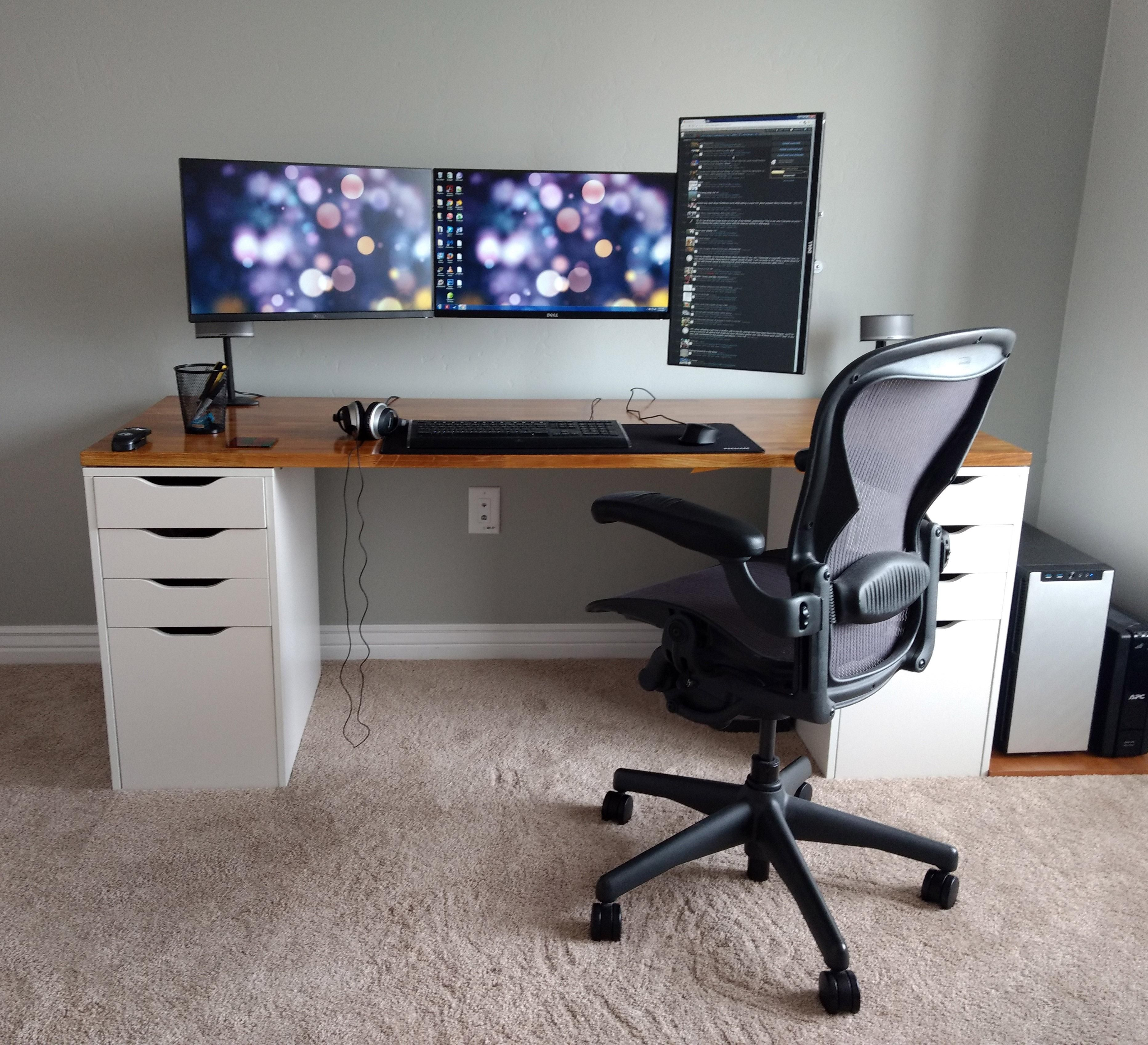 My take on a reddit classic Home office design, Home