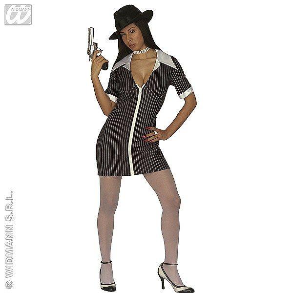 Disfraz de Mujer Gangster #disfraces #carnaval