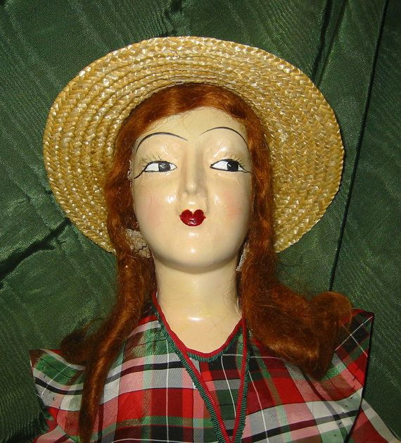Boudoir Doll Anita style from 1920's.