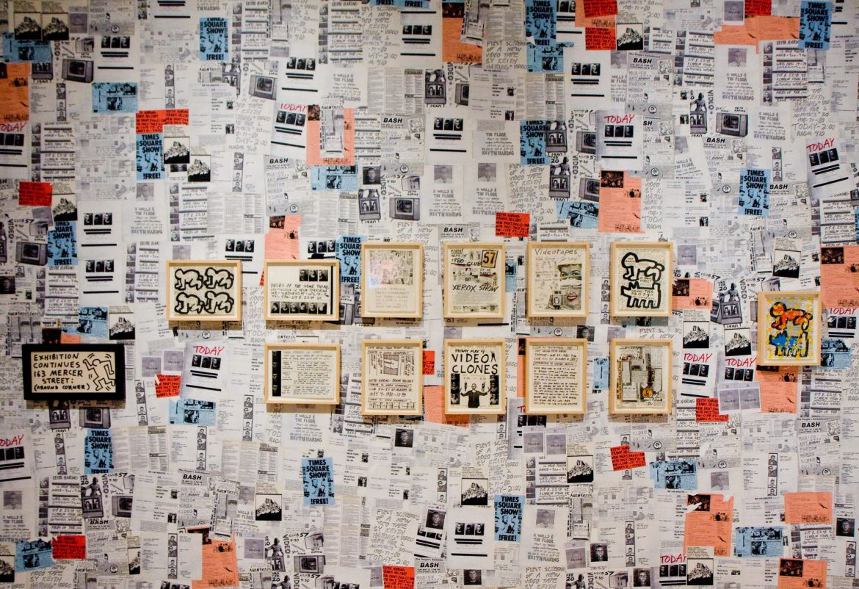 Keith Haring S New York Keith Haring School Of Visual Arts Graffiti Wall