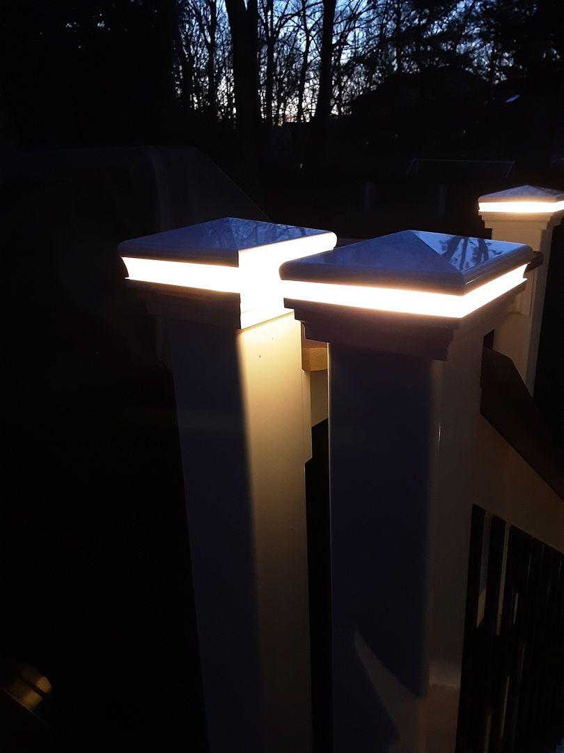 Neptune Low Voltage Led Post Cap Light By Lmt Mercer Deck Post Lights Led Deck Lighting Post Cap