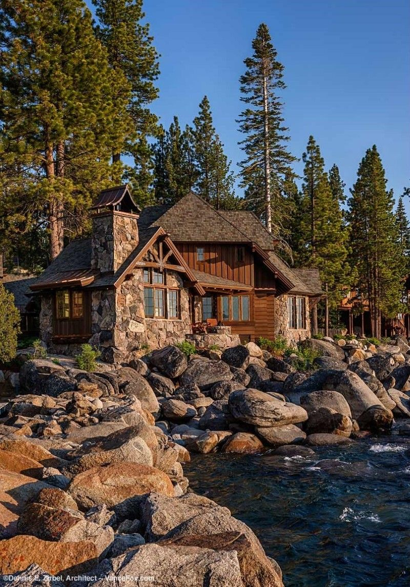 Lake Tahoe Estate - distinguished and iconic home