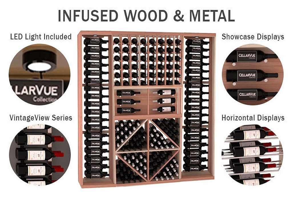 This is 1 of tons of options from IWA for the wine storage