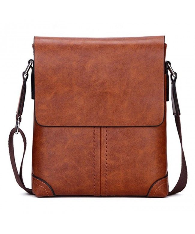 17c201341217 Polo Leisure Handbags Men Genuine Leather Briefcase Shoulder Bag Khaki -  C7188GCXGOS  Bags  handbags  gifts  Style  Briefcases