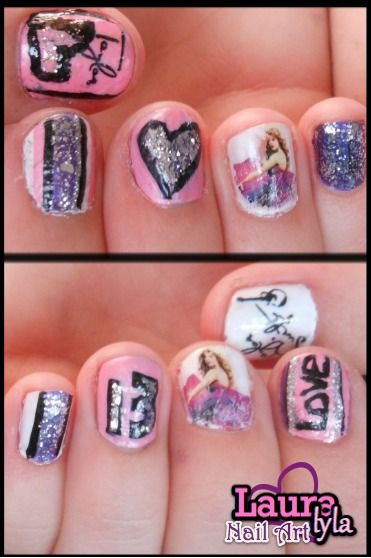 Taylor Swift Nails Lauralyla Nail Art Http Www You