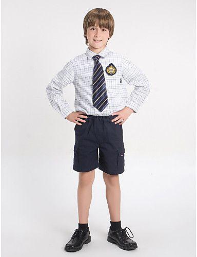 uniformes+escolares+de+seis+bolsillos+con +cremallera+pantalones+cortos+azul+marino+oscuro+–+EUR+€+28.99 76b19ed1b9505