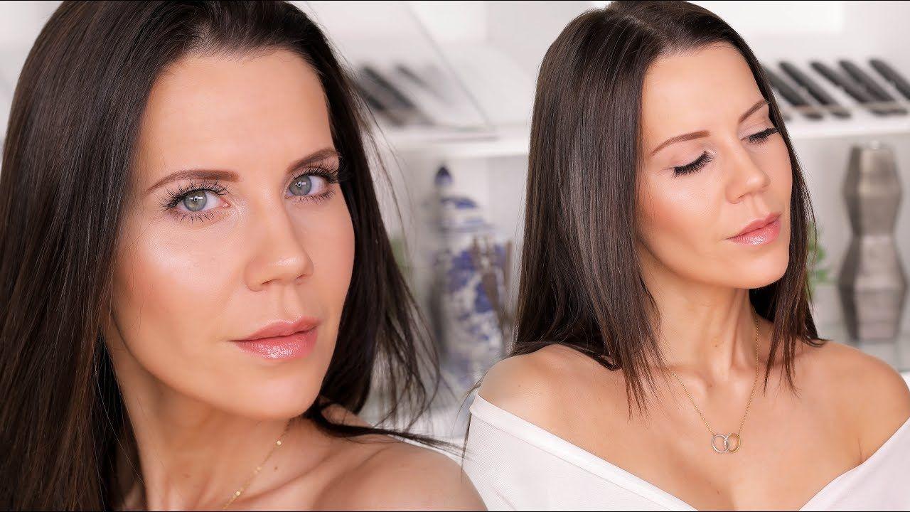 "MY GLOWING ""Natural"" MAKEUP ROUTINE YouTube Makeup"
