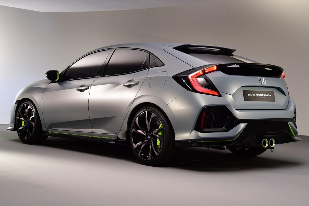 2017 Honda Civic Hatchback Prototype From Europe Straight Its Worldwide Introduction A Of Weeks Prior At The 201