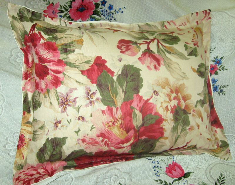 Best 2 Pillow Shams Handmade Ralph Lauren Fabric Post Road 400 x 300