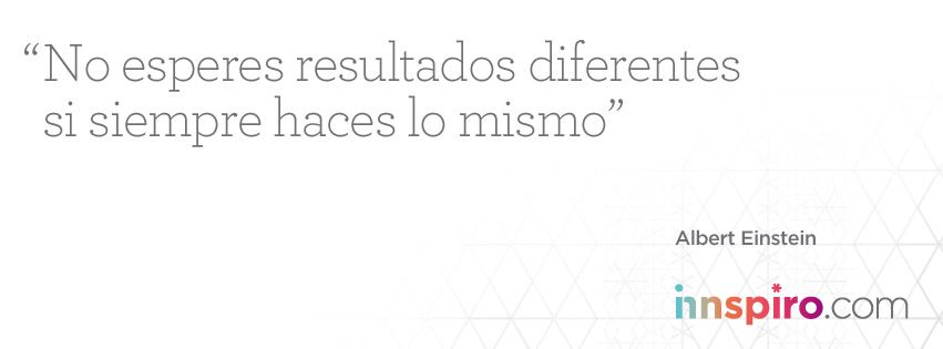 Totalmente de acuerdo con Albert Einstein. ¿Y tú?