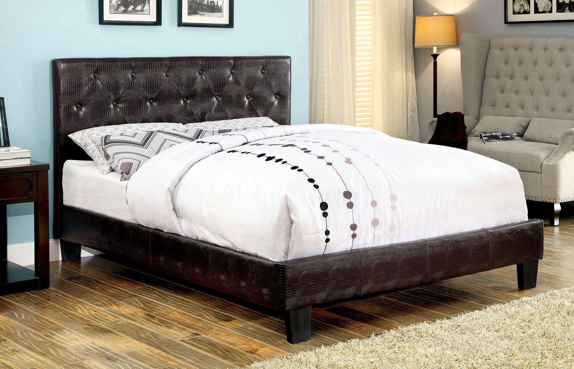 Clio Upholstered Platform Bed