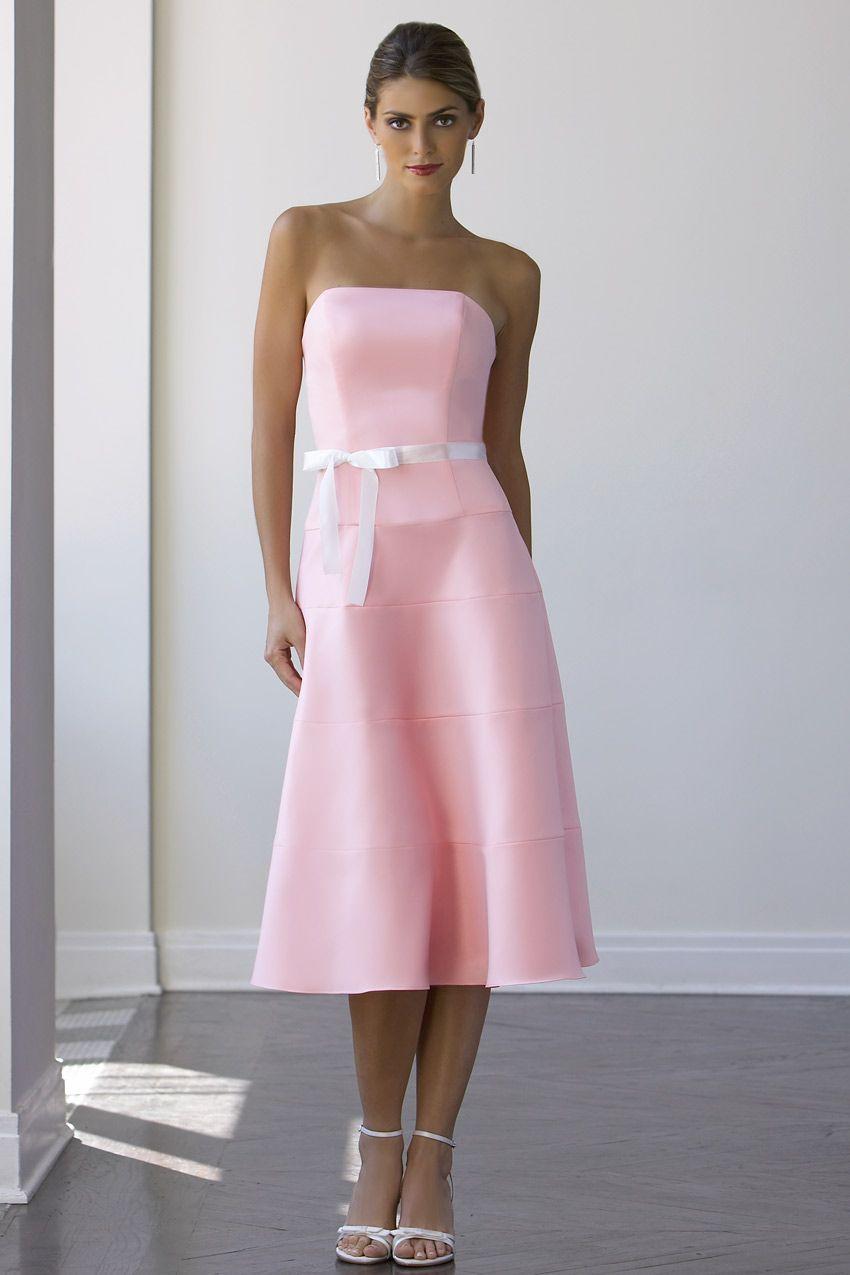 Pink And White Bridesmaid Dresses - Artee Shirt