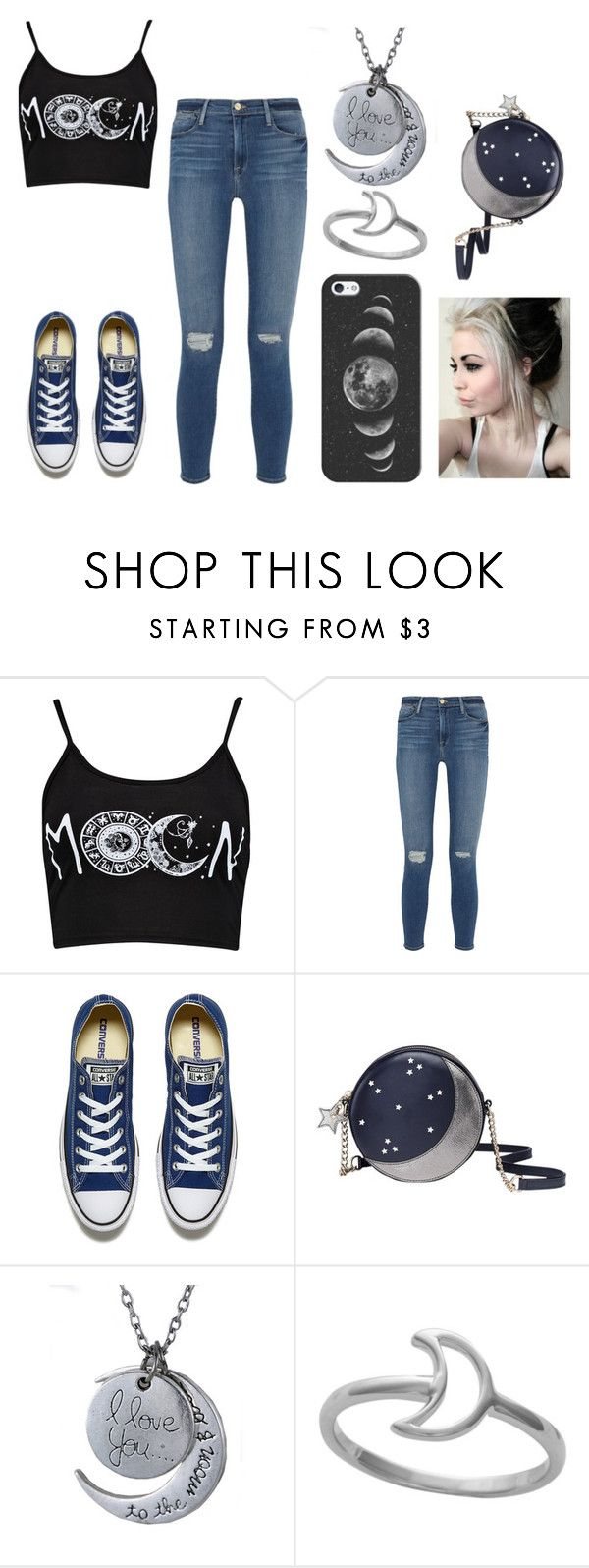 """Moon"" by shyoxic on Polyvore featuring Frame Denim, Converse, Kate Spade, Midsummer Star and Casetify"